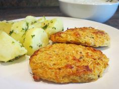 Polenta, Cauliflower, Vegetarian Recipes, Low Carb, Eggs, Vegetables, Cooking, Breakfast, Hamburgers