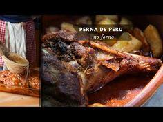 Receita de Perna de Peru no forno - Clara de Sousa Roasted Turkey Legs, Beef, Youtube, Turkey Leg Recipes, Turkey Recipes, Wafer Cookies, Tasty Food Recipes, Turkey Legs, Roasted Turkey
