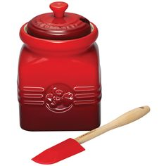 Le Creuset Berry Jam Jar And Spreader