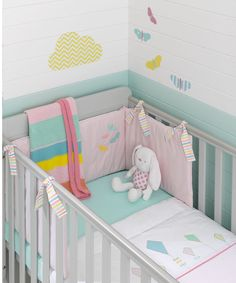 Mothercare Butterfly Fields Bedding Collection
