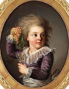 Louis XVII, son of King Louis XVI and Queen Marie Antoinette.