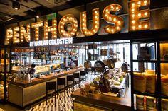 Interior design | decoration | restaurant design | Penthouse by Harlan Goldstein