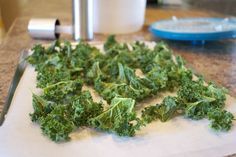 kale chips- easy and healthy
