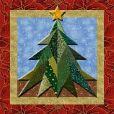 Moda Bake Shop: Biscuit Quilted Christmas Wall Hanging