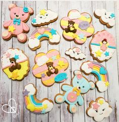 Baby shower cookies by DI ART