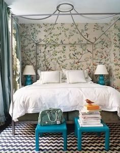 Chinoiserie Chic: Readers' Requests Series - Chinoiserie & Chevron