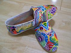 love these Painted Toms! I'm going to do something similar to mine <3