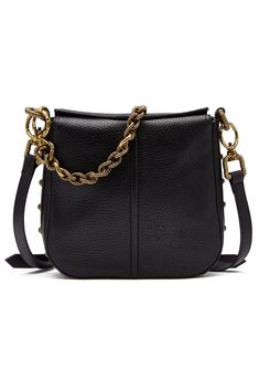 Aje Leather Hutton Hobo Mini Bag