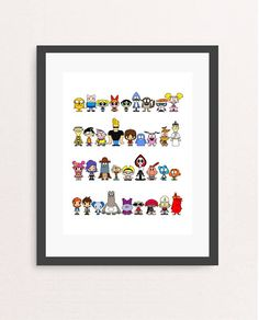 Check out this item in my Etsy shop https://www.etsy.com/listing/478318493/cartoon-network-poster-cartoon-print-90s