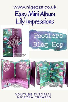 Hi I am Gez from Nigezza Creates, I am an independent Stampin Up Demonstrator. Mini Scrapbook Albums, Mini Albums, Paper Ribbon, 3d Projects, Card Kit, Thank You Gifts, Journal Cards, Vip, Stampin Up