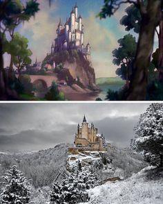 18 lugares reais que inspiraram paisagens de filmes da Disney - Casa