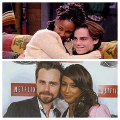 One of my favorite interracial couples on tv!