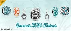 pandora summer 2014 : pineapples,..tropical flowers,,blue blue sea colors... #PandoraSummercontest.