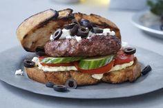 Greek Hamburger