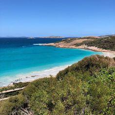 Another view of West Beach in Esperance, Western Australia. Crystal blue waters. No filter. Seeing is believing! #australia #visitesperance…
