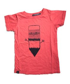 This Red Sketch Mate Organic Tee - Toddler & Kids by Mini & Maximus is perfect! #zulilyfinds