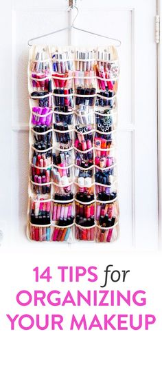 DIY tips for organizing your makeup  https://www.facebook.com/Makeuplocalypse?ref=br_rs