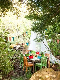 outdoor kids party