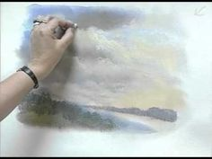 Playing now on http://Artistsnetwork.tv, in Pastel Workshop Part 2: Landscape & Still Life, Jackie Simmonds shares her techniques for working on different types of surfaces and in different approaches (working from life, from photographs, and working from sketches). Preview now for FREE to learn tips on using a black surface to paint flowers and how to paint skies on a watercolor underpainting.