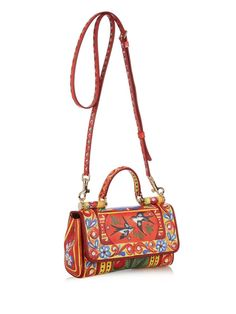 7b05e1f9c5 Dauphine mini bird-print shoulder bag | Dolce & Gabbana |  MATCHESFASHION.COM UK