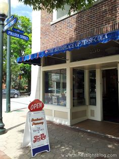 Discover the birthplace of Pepsi. New Bern, NC