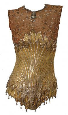 Britney Spears Circus Showgirl Bodysuit - 2008 - The vintage garment has been used previously by assorted celebrities in numerous productions - @~ Mlle