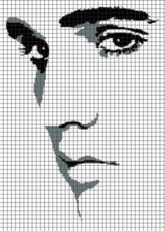 Elvis Presley Square By Maninthebook On Kandi Patterns