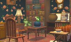    Salon de taille moyenne très chaleureux meubler avec la série rustique et rococo