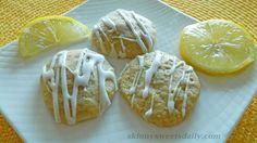 Light And Luscious Lemon Glazed Cookies