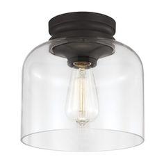 Feiss Lighting Hounslow Oil Rubbed Bronze Flushmount Light