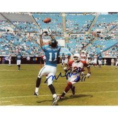 """Mike Sims-Walker Jacksonville Jaguars Fanatics Authentic Autographed 8"""" x 10"""" Catch Horizontal Photograph"""