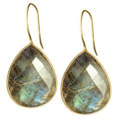 Maya Earrings in Labradorite - Look Your Best on Joss & Main
