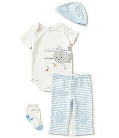 54363455b Starting Out Baby Boys Newborn-9 Months Baseball 4-Piece Layette Set ...