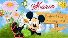 Mária Prajem krásny sviatočný dník