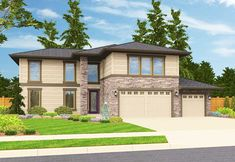 Bright and Airy Prairie Style House Plan - 85088MS   1st Floor Master Suite, Bonus Room, Butler Walk-in Pantry, CAD Available, Den-Office-Library-Study, Loft, Northwest, PDF   Architectural Designs