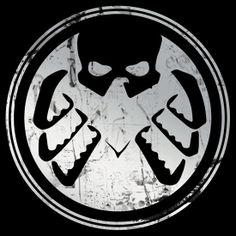 Hydra / S.H.I.E.L.D. Logo (silver)