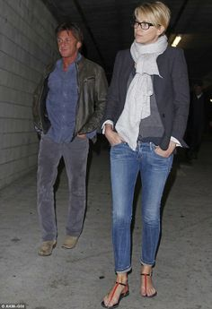 Sean Penn and Charlize Theron enjoyed a night at the movies amid rumours their dating - January 5