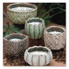 These candles would look would be a lovely addition to your home! Arrange them into a candle display!
