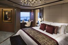 The ms Koningsdam cruise ship is Holland America Line's newest and largest, with 1,331 cabins and suites for its 2,650 passengers. The ship includes Holland America's first-ever purpose built family cabins and single cabins.  We take a deeper look inside.