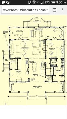 Old southern dog trot houses dogtrot from the southern for Dog trot house plans southern living