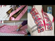 Bell Sleeve Cutting With Designer Pattern - YouTube
