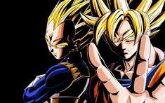 Dragon Ball Z (dbz)- Goku and Vegeta Fotos Dragon Ball, Dragon Ball Z Goku, Goku E Vegeta, Goku Vs, Manga Anime, Anime Naruto, Manga Dragon, Cartoon Dragon, Goku Wallpaper