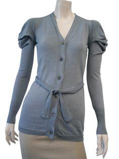 DELPHINE WILSON 100% cotton Cardigan at EUR 118.00 from dressspace.com