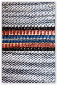 Helmin tuvanmatto TaitoSatakunta / Traditional Finnish Rag Rug Rugs On Carpet, Carpets, Rag Rugs, Weaving Textiles, Recycled Fabric, Scandinavian Style, Woven Rug, Textile Art, Finland