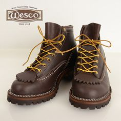 メンズ WESCO ウエスコ 106100[ay]ジョブマスター ブーツ 革靴 レザー の画像4
