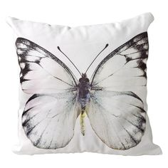 Small vintage style butterfly cushion | Natural History Museum Online Shop