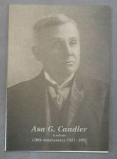 Coca Cola Asa Candler Booklet   100 YEARS
