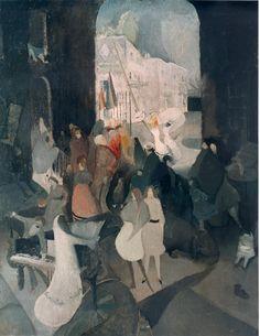 'The Rival Beauties', 1915 - Edwin Dickinson
