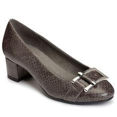 A2 by Aerosoles Sketch Pad Women's Dress Heels, Grey Other, SKETCH PAD GRAYSNK W