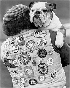 Bulldog buddy for life!